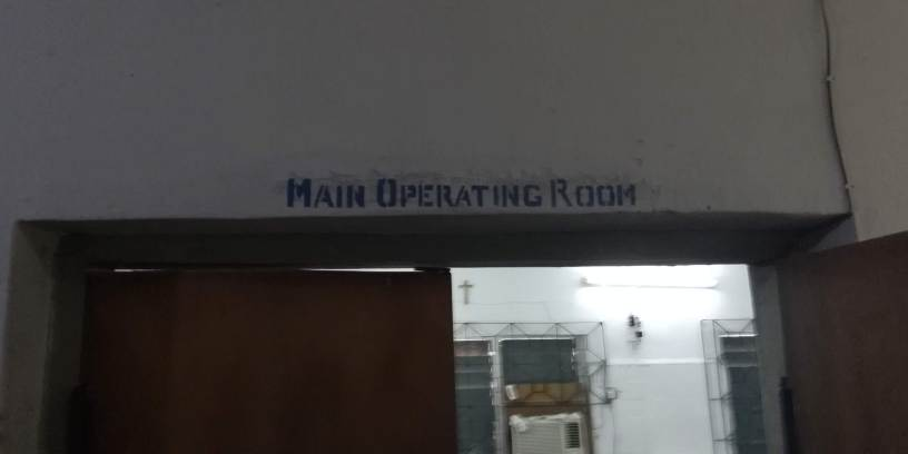 Main Operating Room - Mercy Hospital and Mercy Eye Centre, Abak