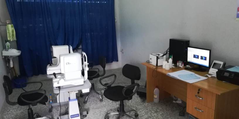 Eye Examination Room - Mercy Hospital and Mercy Eye Centre, Abak