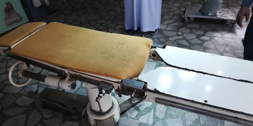 Operating Table - Mercy Hospital and Mercy Eye Centre, Abak