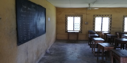 Classroom - Loreto Girls' Juniorate Eriam
