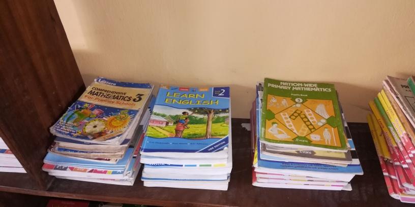 Diocese of Ikot Ekpene - Elementary School Library