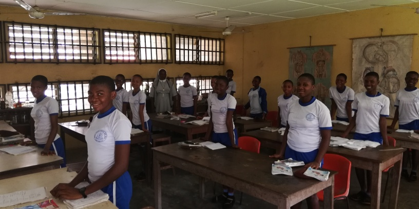 Students - Holy Child Girls Secondary School
